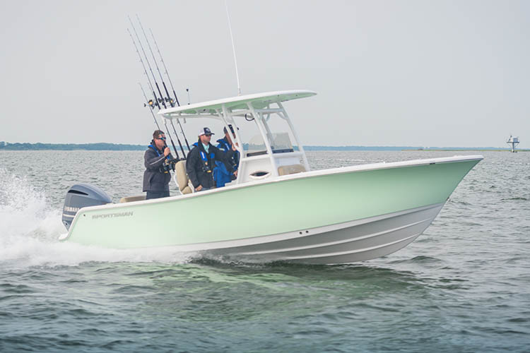 Image of Open 242 Center Console