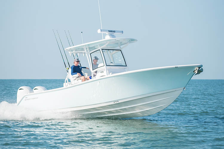 Image of Open 282 Center Console