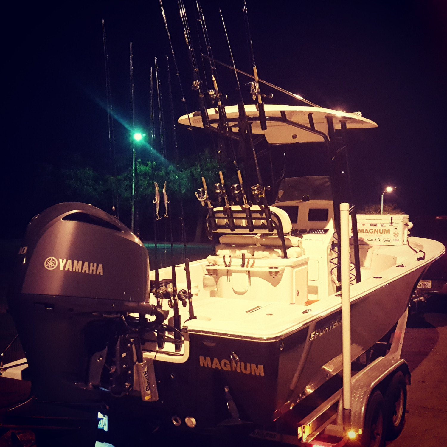Title: MAGNUM - On board their Sportsman Masters 247 Bay Boat - Location: Sarasota, FL. Participating in the Photo Contest #SportsmanDecember2017