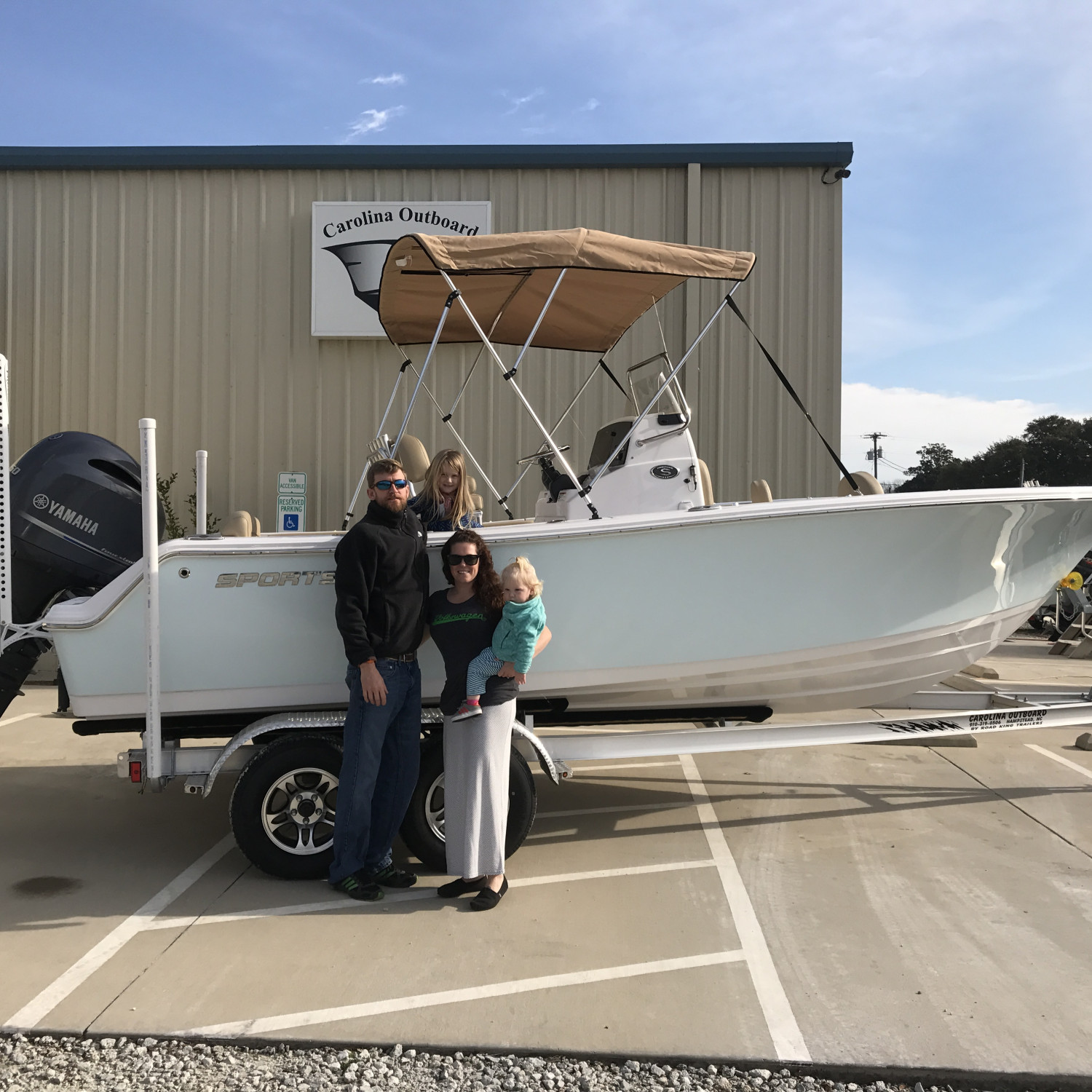 Title: New boat - On board their Sportsman Heritage 211 Center Console - Location: Hampstead nc. Participating in the Photo Contest #SportsmanDecember2017