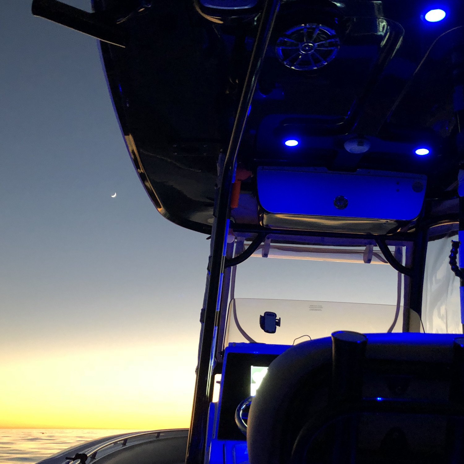 Title: Sportsman Sunset - On board their Sportsman Open 252 Center Console - Location: Hermosa Beach, California. Participating in the Photo Contest #SportsmanDecember2017
