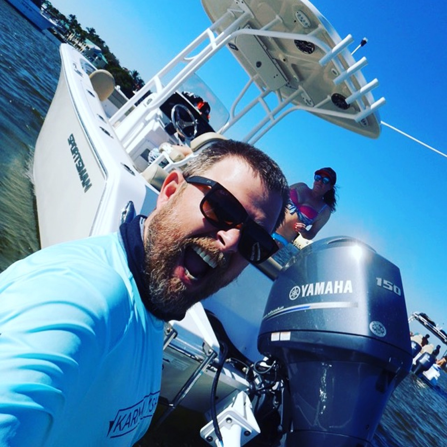 Title: Captain J Crow - On board their Sportsman Heritage 211 Center Console - Location: Wellington, FL. Participating in the Photo Contest #SportsmanDecember2017