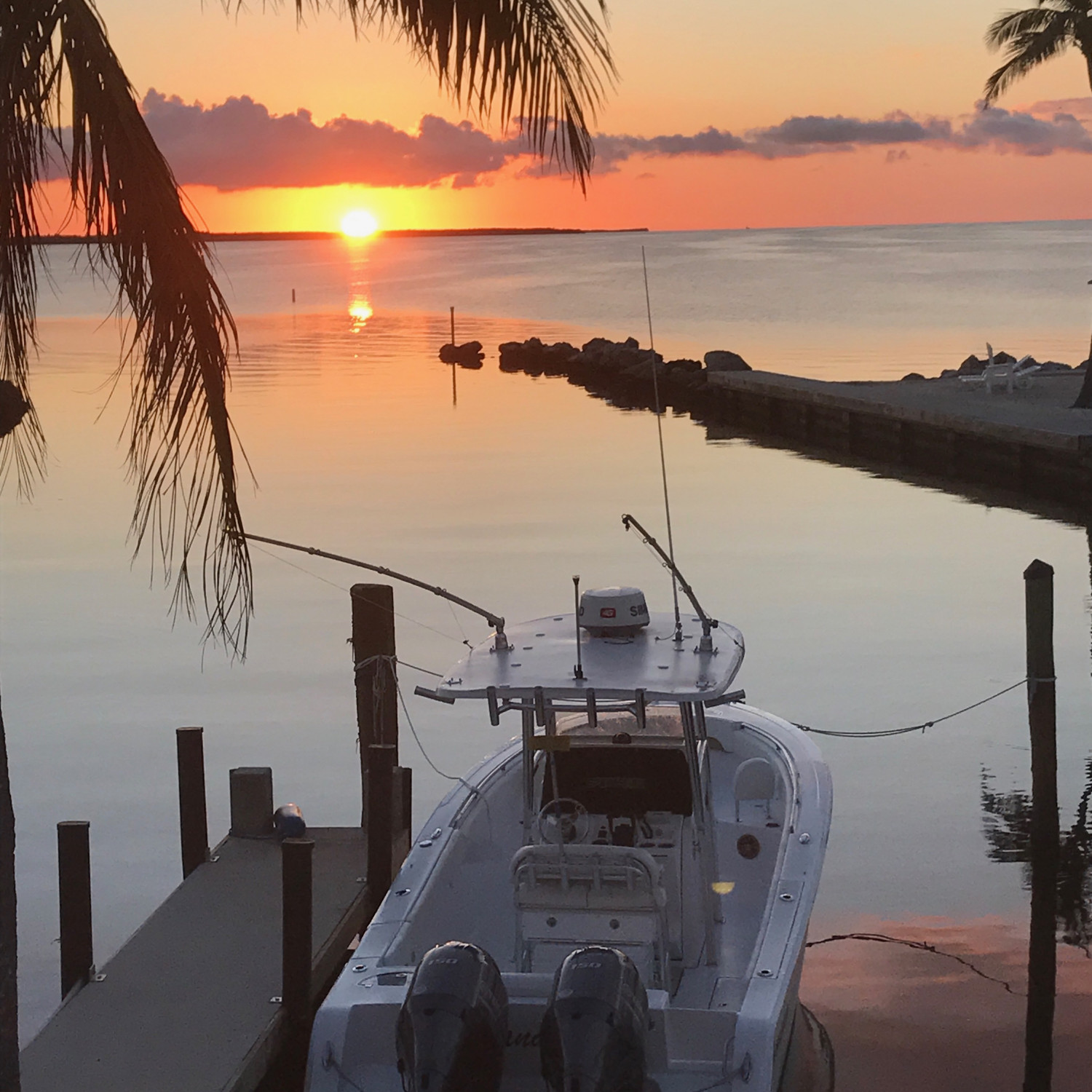 Title: Islamorada sunset - On board their Sportsman Open 252 Center Console - Location: Islamorada, FL. Participating in the Photo Contest #SportsmanNovember2017