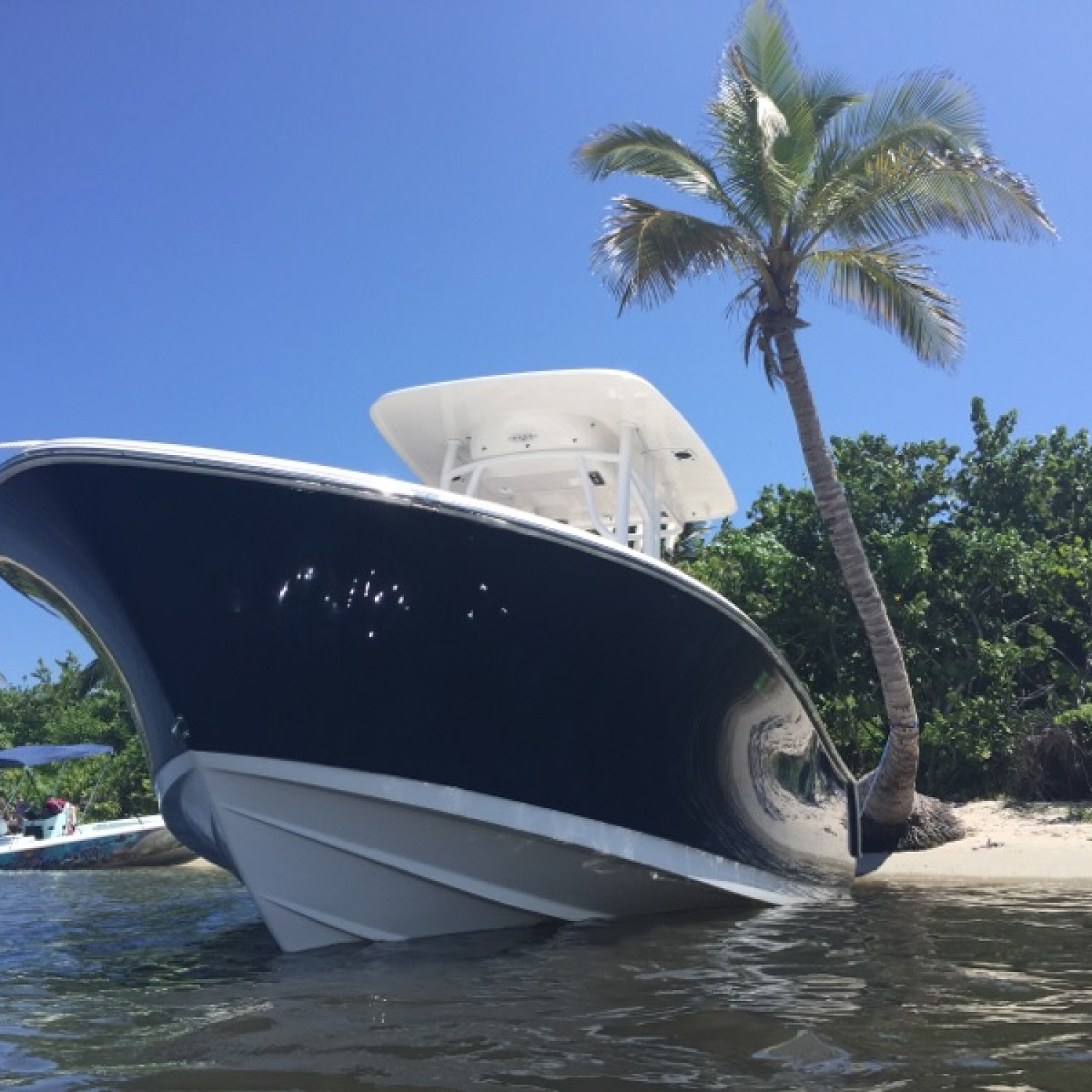 Title: My favorite parking spot! - On board their Sportsman Heritage 231 Center Console - Location: Stuart, FL. Participating in the Photo Contest #SportsmanNovember2017
