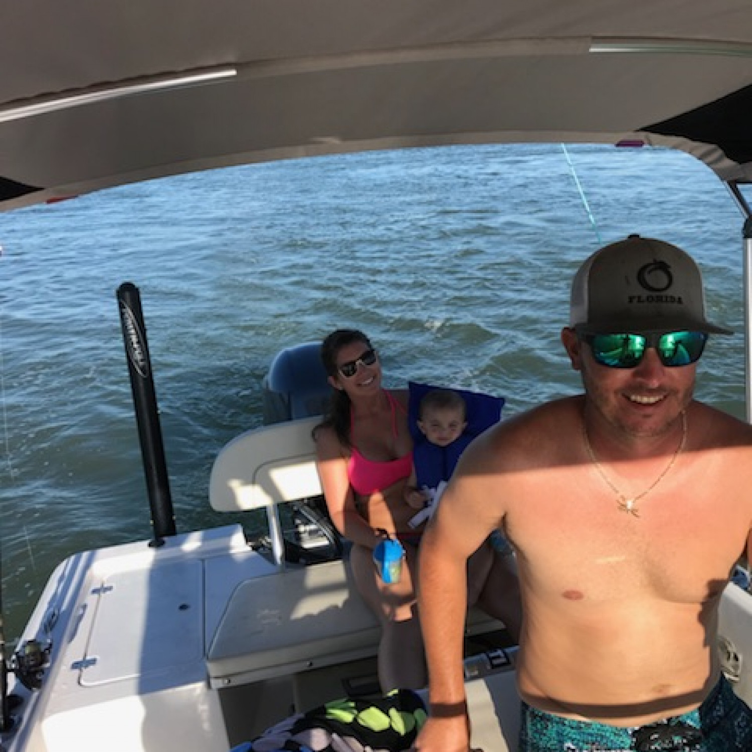 Title: Schooley Sportsman - On board their Sportsman Island Bay 20 Bay Boat - Location: Stuart, Florida. Participating in the Photo Contest #SportsmanNovember2017