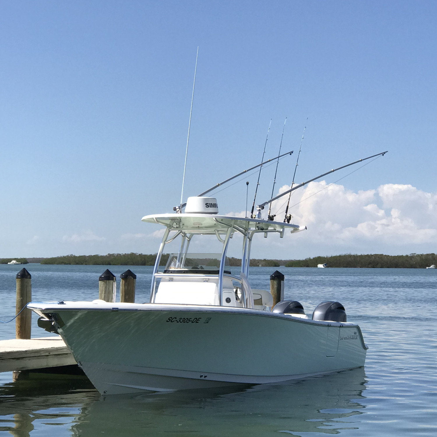 Title: Island Soul relaxing - On board their Sportsman Open 252 Center Console - Location: Islamorada, FL. Participating in the Photo Contest #SportsmanNovember2017