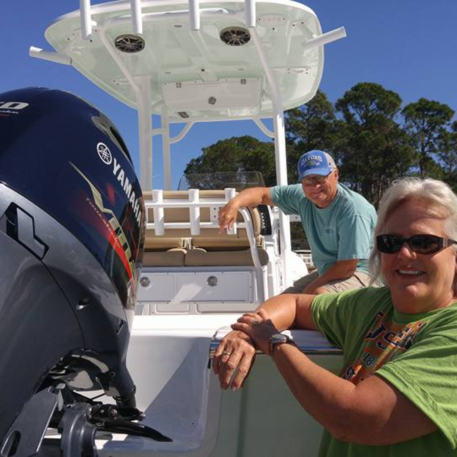 Title: Brand New - On board their Sportsman Masters 227 Bay Boat - Location: St. Augustine, Florida. Participating in the Photo Contest #SportsmanNovember2017